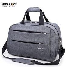 Мужские дорожные сумки для переноски багажа, водонепроницаемая нейлоновая ручная дорожная сумка для путешествий, многофункциональная большая сумка для путешествий XA137ZC