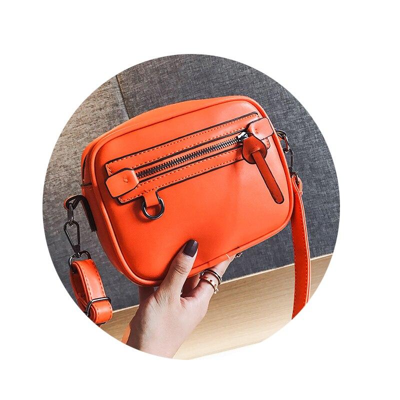 Fairy Messenger Bag Ins Super Fire New Fashion Casual Joker Small Square Shoulder Messenger Honey Orange White Khaki Black Bags