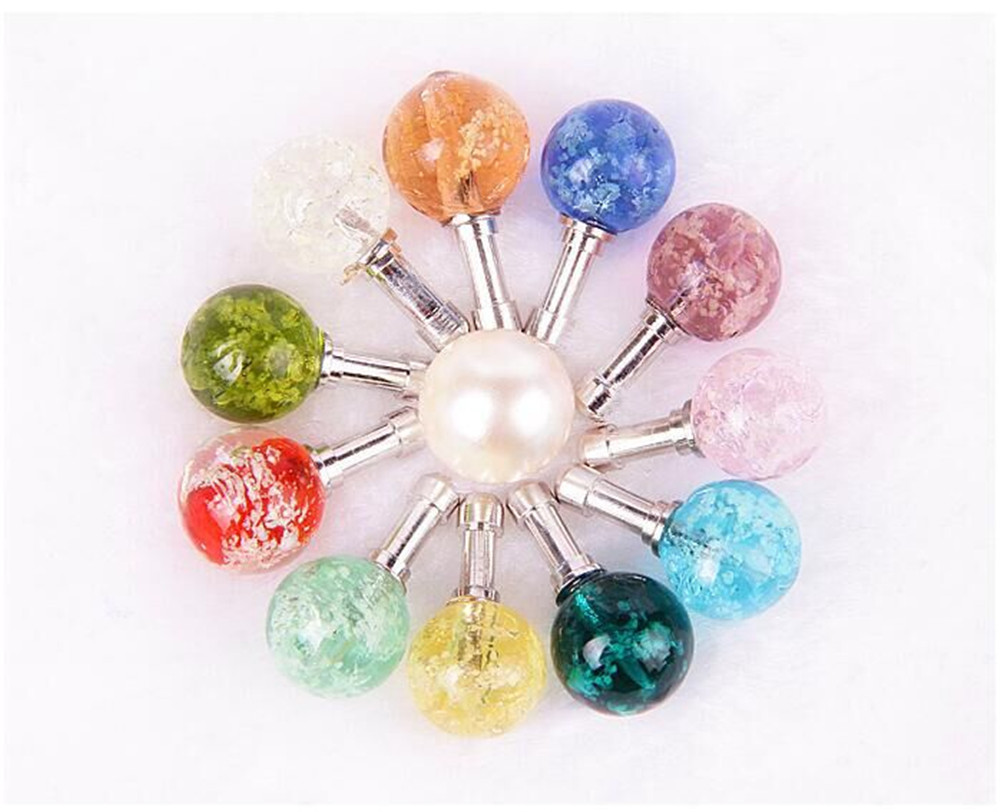 Night Light Earphone Dust Plug Ball Headphone Pearl Stopper For <font><b>Ginzzu</b></font> S5050 S5040 S5140 <font><b>ST6040</b></font> Flycat Optimum 5501 Optimum 5004 image