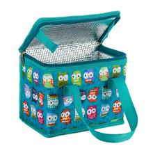 Portable Insulated Polyester lunch Bag Thermal Food Picnic Lunch Bags for Women kids Men Cooler Lunch Box Bag Tote Cute Owl цена 2017
