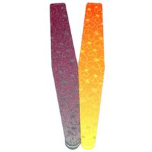 2Pcs Nail Files A File Buff Manicure Tools Grinding Sponge Sandpaper Strip Polishing Tool Colour Random