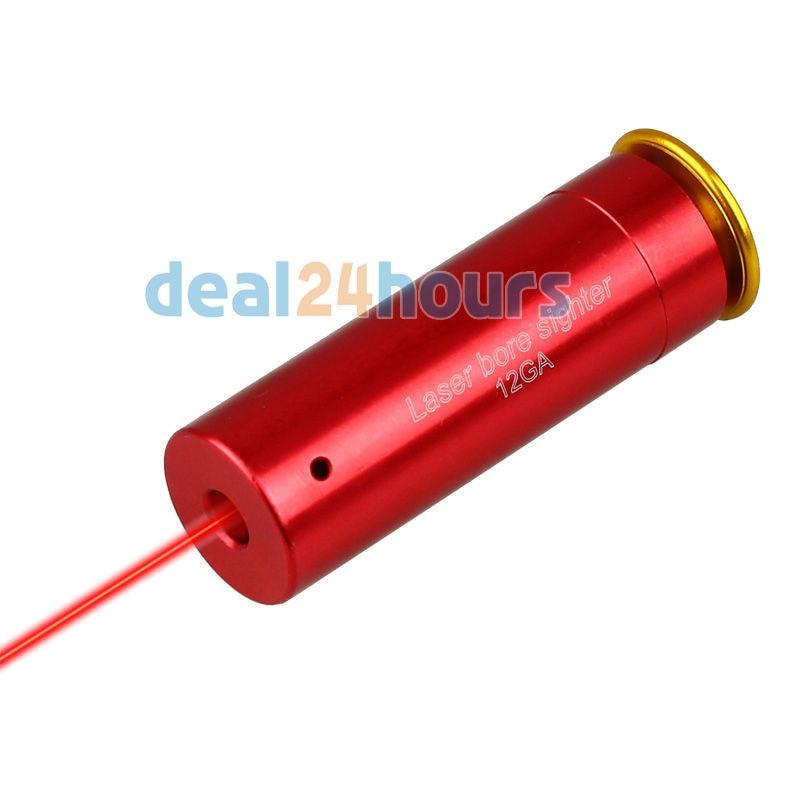 12 GAUGE 12 GA Cartridge Laser Bore Sighter Boresighter Red Sighting Sight Boresight Red Copper 12GA Shotgun FREE Shipping|cartridge powder|copper electrode|cartridge seal - title=