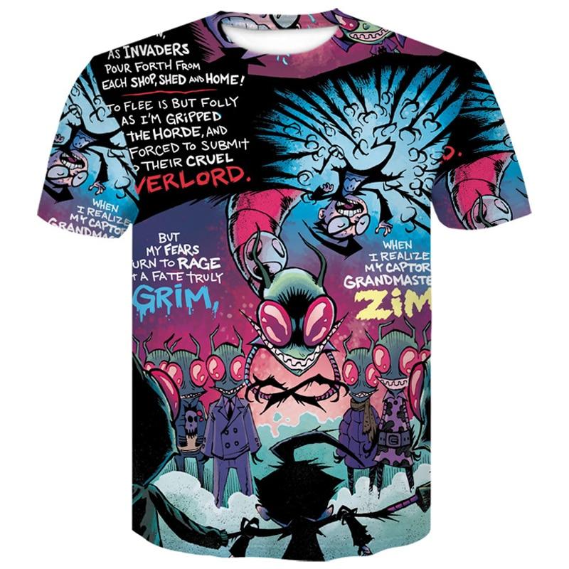 ALI shop ...  ... 32996752743 ... 4 ... Newest Cartoon Rick and Morty Summer Skull Poker Print Men Short Sleeve T-shirt 3D T Shirt Casual Breathable tshirts  Plus-size ...