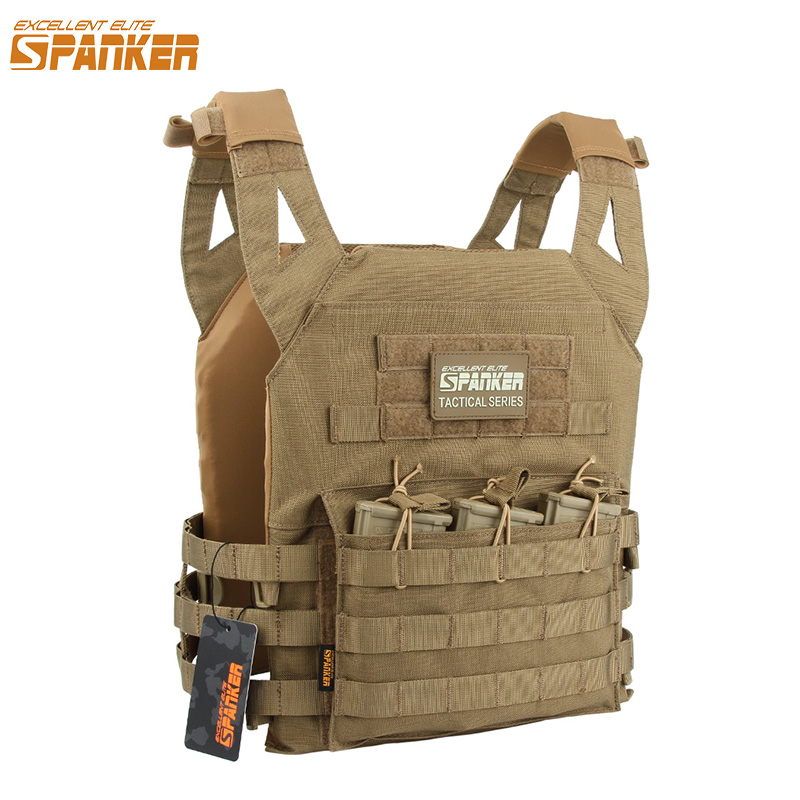 EXCELLENT ELITE SPANKER JPC Outdoor Hunting Vest Tactical Molle балалар Vest Military Equipment CS Vest Kid Version