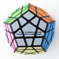 Shengshou Megaminx Magic Cube Puzzle Balck And White Speed Cubes Educational Toy Special Toys