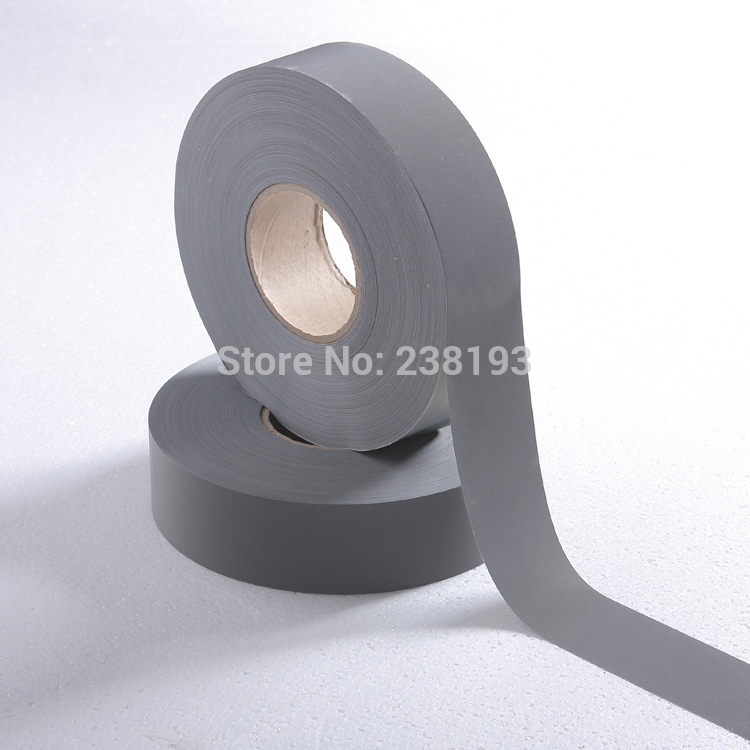 Width 5 Cm Safety Reflective Warning Tape,Clothing Reflective Strip.night Light Reflection Cloth.fabric.lenght 10m.
