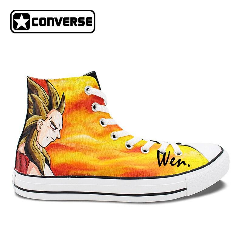 d4647f475fe9 ... best selling d6b38 83a66 ... Anime Sneakers Men Women Converse All Star  Dragon Ball ...