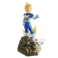 Banpresto Original Dragon Ball Super ULTIMATE SOLDIERS Vegeta APF PVC Figure Model Movie Broly Gogeta Figurine Toy