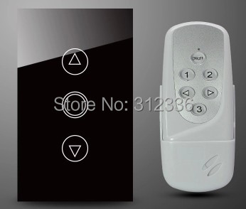 Free shipping 120MM 2PCS/LOT=1PC Switch+1PC Remote Control Glass touch light switch LED regulator light  tempering glass livolo remote switch with crystal glass panel wall light remote touch led indicator 3gang 1 way vl c503r 11 12 without remote