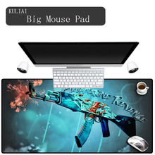XGZ Ak47 Ar15 Gun Mouse Pads Large Gaming Player Pad Keyboard Laptop Gamer Edge Control Gaming Mouse Cool MousePad Game for Csgo