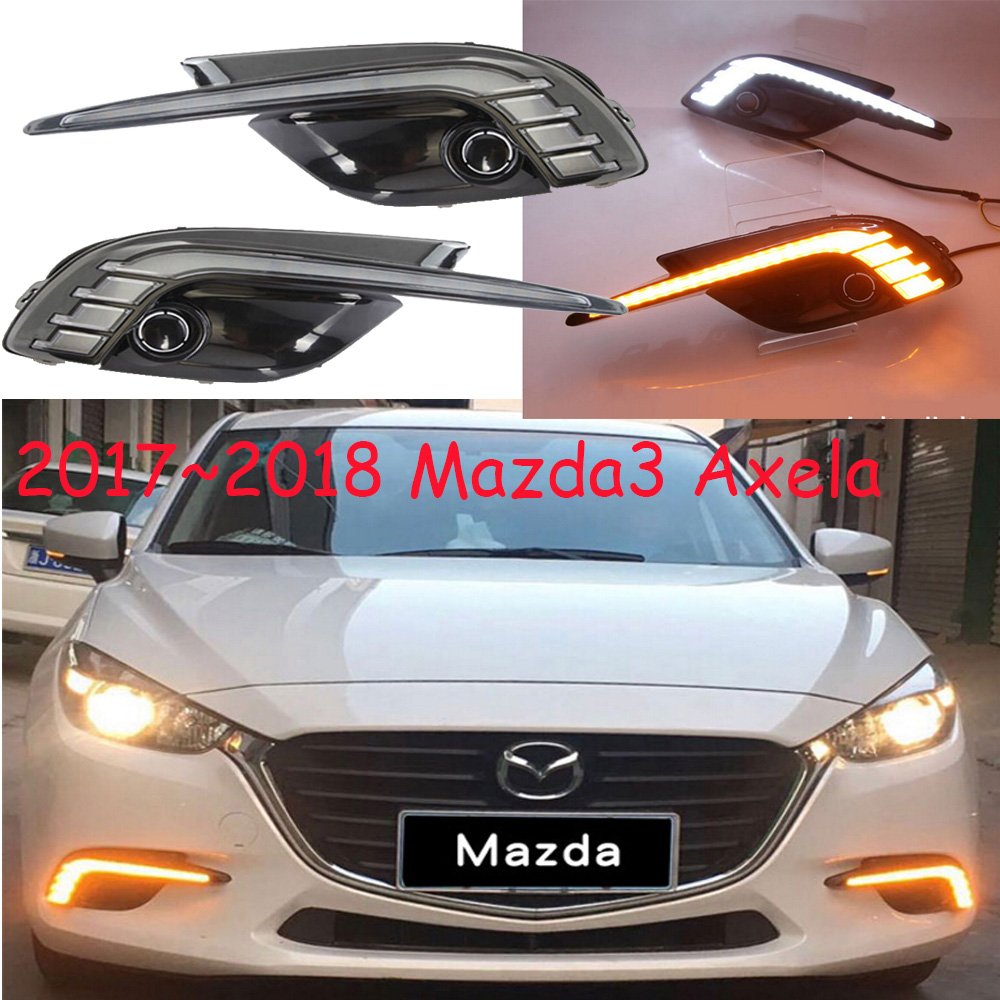 2017~2018 Mazd 3 day light,Axela daytime light,Free ship!LED,Mazd 3 fog light,atenza fog light;Axela parking light mazd6 atenza taillight sedan car 2014 2016 free ship led 4pcs set atenza rear light atenza fog light mazd 6 atenza axela cx 5
