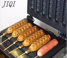 110v / 220v French Fenma stick machine  Six grid electric heating dog machine Hot dog sausage machine