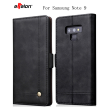 New Flip Case For Samsung Galaxy Note 9 Leather Wallet Luxury Phone Cases Note9 Cover