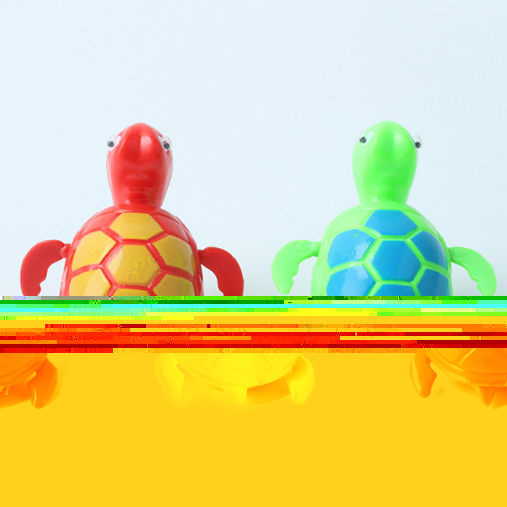 Hot Sale 2016 2Pcs New Wind Up Swimming Turtle Turtles Pool Animal Toy For Baby Kids Pet Bath Time TH00501 S03