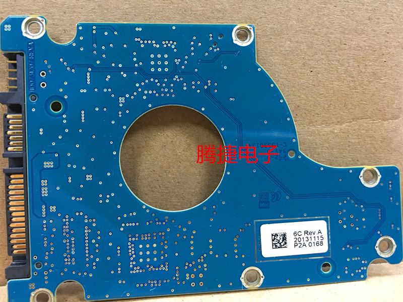hard drive parts PCB logic board printed circuit board 100731207 REV A for Seagate 2.5 SATA hdd data recovery hard drive repair