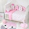 Neugeborene Maß Brief Bett Stoßstange Baumwolle Baby Krippe Protector Soft Kreative Geschenke für Kinder Stofftiere