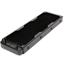 360mm Aluminium Computer Water Discharge Liquid Heat Exchanger Threaded Thread Radiator for CPU LED Heatsink