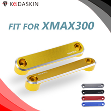 Motorcycle CNC Aluminum Alloy Front Axle Coper Plate Decorative Cover for Yamaha Xmax300 2017-2019 XMAX250