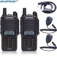 2 шт Baofeng UV-XR 10 W 4800 mAh Батарея IP67 Водонепроницаемый портативная рация 10 км Long Range Высокая Мощность Портативный двухстороннее радио