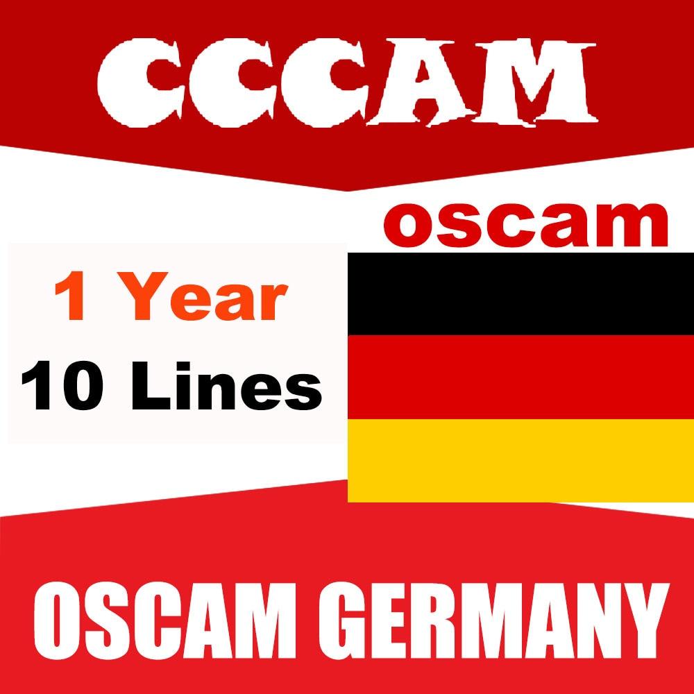 Satellite-Receiver Cccam Spain Gtmedia V7s Portugal Germany Freesat V8 1-Year-Oscam SUPER