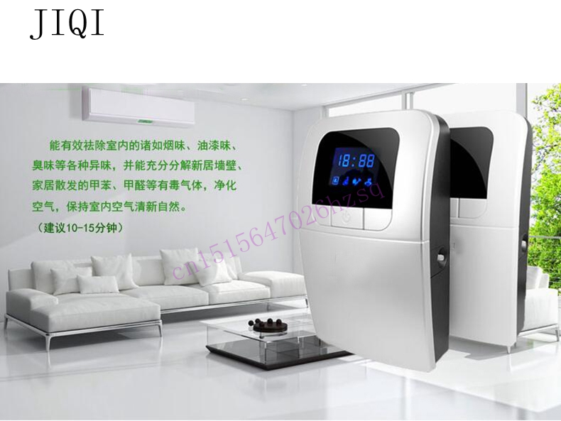 Ozone machine Vegetable washer Household disinfection machine for fruits and vegetables detoxification function oxygen machine  fruits vegetable ultrasonic washer fruit washing machine cleaner wash vegetables meat pesticides ozone disinfection us eu plug