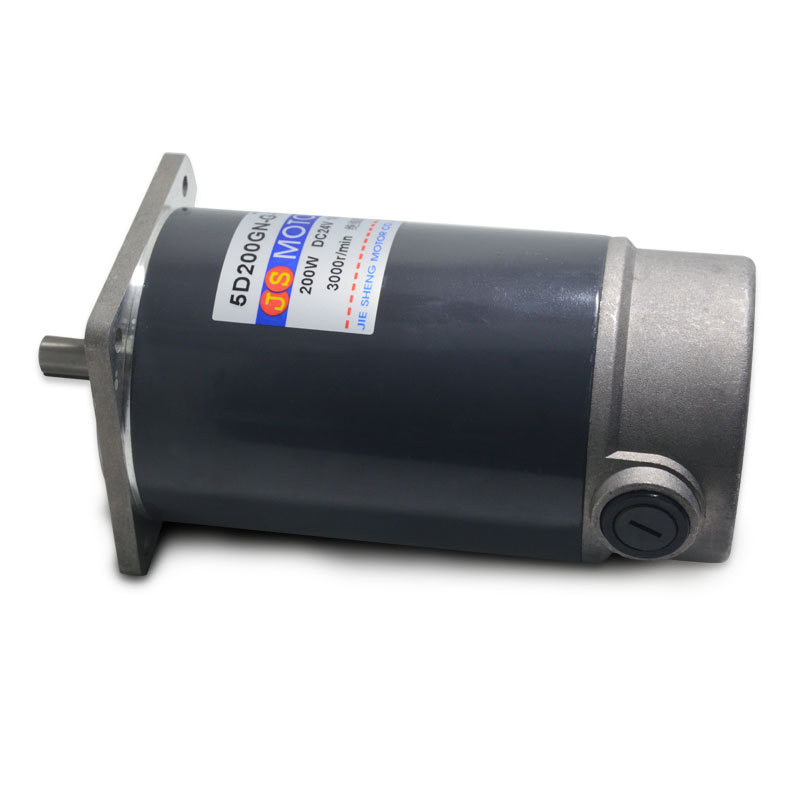 5D200GN-G-24 DC motor reversing speed motor speed 1800 rpm and high torque micro motor 24V / 200W Power Tool Accessories r80170 12v 1600 24v 1800 3500rpm high speed large torque electric tubular dc motor for pump industrial applications machine tool
