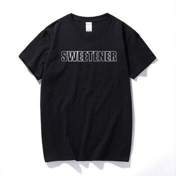 Ariana Grande camiseta No Tears Left To Cry nueva canción álbum camiseta Sweetener algodón Casual camisas Europa tamaño Streetwear