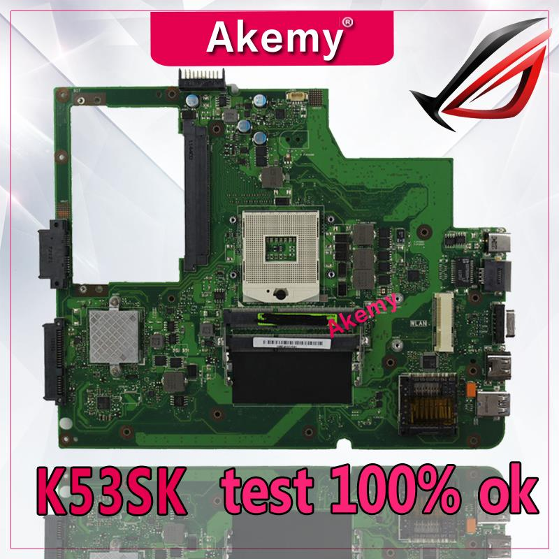 Akemy K53SK Laptop motherboard for ASUS K53SK Test original mainboard