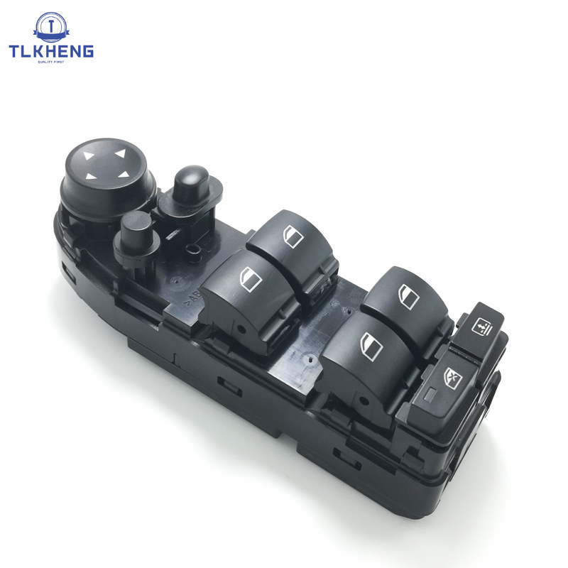 Nuevo coche interruptor 12 V elevalunas interruptor para BMW E60 E61 523i 525i 528i 530i 540i 550i ventana OEM 61319122113