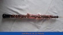 Профессиональный grenadilla черный деревянный Средства ухода за кожей Гобои розового золота C Ключ с Case-полуавтоматический