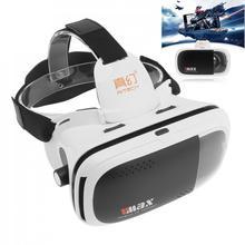RITECH VMAX Immersive 3D Movie Glasses Helmet 360 Virtual Reality Glasses Vrbox VR Headset Cardboard 3.0 for 4.7-6′ Smartphone