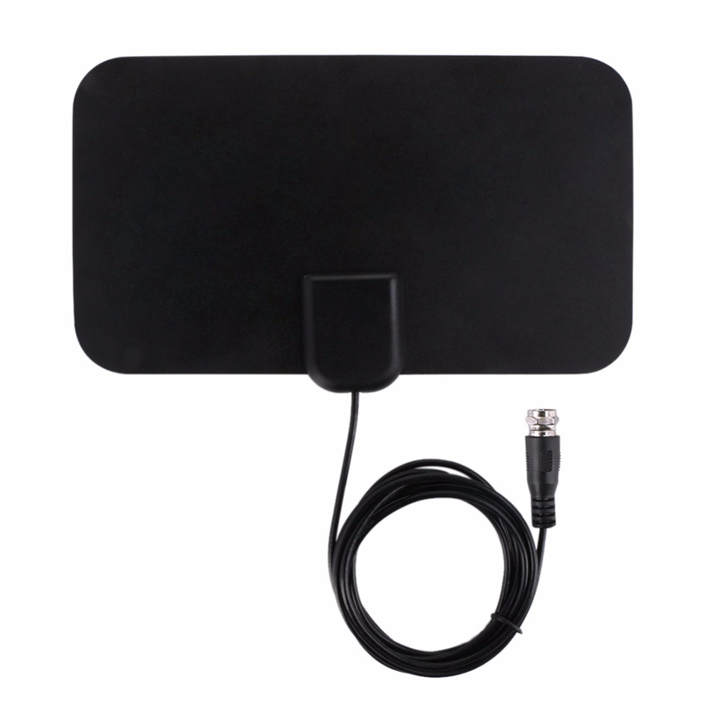 Mini HDTV HD Indoor Digital ATSC Freeview Antenna With TV Aerial Amplifier 50 Mile Range Fox HDTV DTV VHF Scout Style TV Scout
