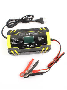 FOXSUR Desulfator Battery-Charger Pulse-Repair Motorcycle Golf 12V 24V Maintainer
