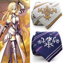 832dd909b FGO Alter Fate Grande Ordem Jeanne d Arc Empate Cosplay Lolita Meninas  Uniforme Escolar Gravata