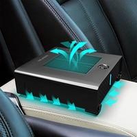 Car Air Purifier Freshener Portable USB Cleaner Auto Fresh Air Anion Ionic Purifier Oxygen Bar Ozone Ionizer Interior Accessory