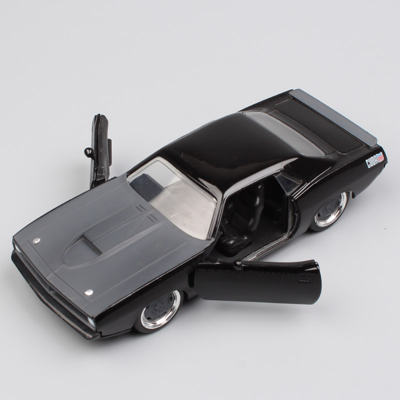 1 32 Scale Jada Fast & Furious old classic 1973 Plymouth Barracuda ...