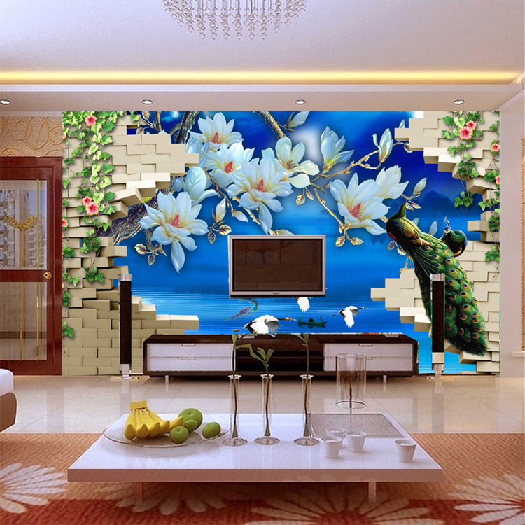 Compare prices on orchid mural online shopping buy low for Custom mural cost