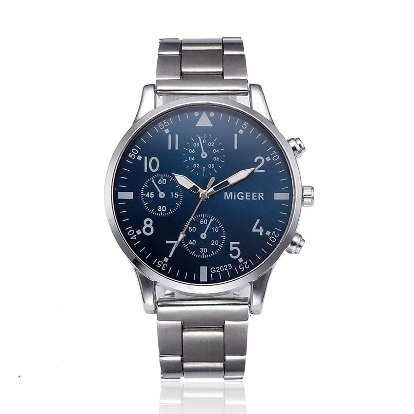 New Arrive Luxury Full Steel Watch Men Business Casual Quartz Wrist Watches Military Wristwatch Waterproof Relogio dropship
