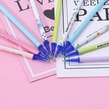 10Pcs 0.5mm Erasable Gel Ink Pen Refills Magic Writing Student Office Supplies