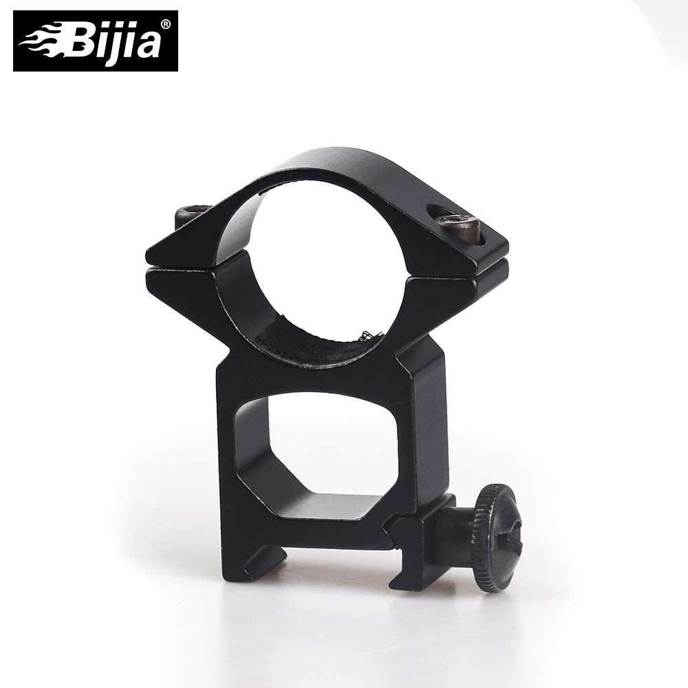 BIJIA Tactical Airsoft 25,4mm Quick Release Umfang Outdoor Jagd 20mm Schiene Montieren Pacatinny Weaver Schiene