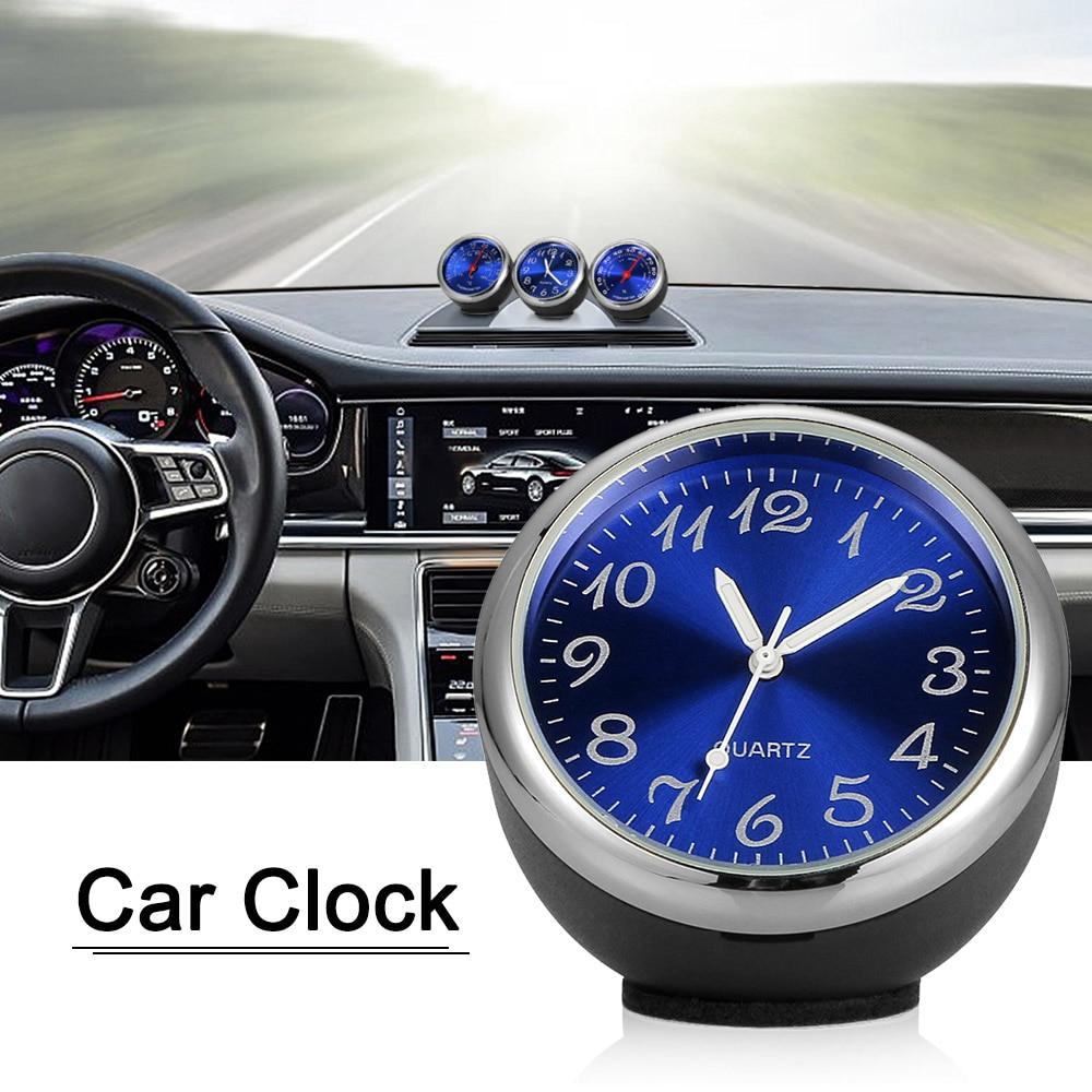 Mini Car Digital Quartz Clock Decoration High Precision Automotive electronic Car Accessories