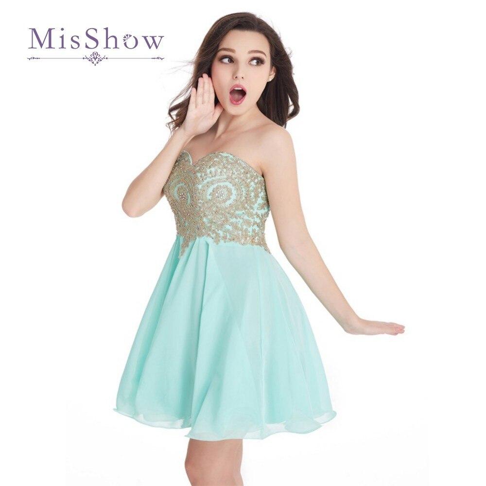 Online Get Cheap Short Homecoming Dresses Mint Green -Aliexpress ...
