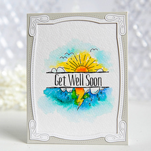 Get Well Soon Sun Metal Cutting Dies Stencil for DIY Scrapbooking Album Paper Cards Decorative Crafts Embossing Die Cuts