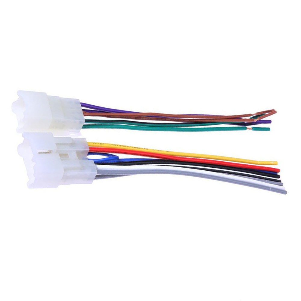 Biurlink 10 Sets Car Stereo Factory Radio Harness Wire For Toyota Yaris  RAV4 Corolla Camry -in Cables, Adapters & Sockets from Automobiles &  Motorcycles on ...