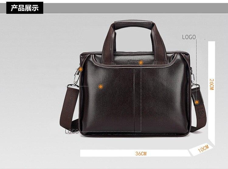 Briefcase Business Leather Mens Handbag Color : Black, Size : S Cowhide Leisure Fashion Briefcase One Shoulder Inclined Bag Mans Bag Laptop Sleeves