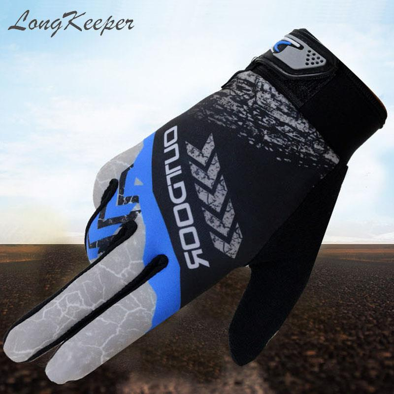 2019 Spring Summer Touch Screen Gloves Men Windproof Full Finger Guantes For Men Fashion Classic Green Blue Red Mitts Men