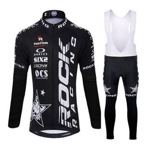 Rock Racing Cycling clothing long cycling jersey ropa cycling jersey custom made Ropa Ciclismo short Outdoor cycling wear team rock racing cycling clothing couple jerseys short sleeve high quality paladinsports christmas design