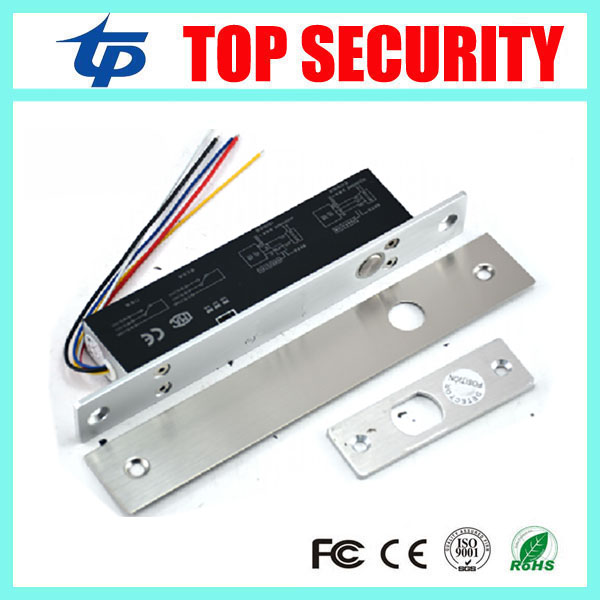 DC12V fail-safe Mode Electric Bolt Lock for Access Control Or Video Door Phone Intercom System Low Temperature Bolt Lock. lunev
