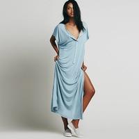2018 New Product Sandy Fashion Beach To Mop The Floor Longuette Women Sundress Summer Sexy Dresses