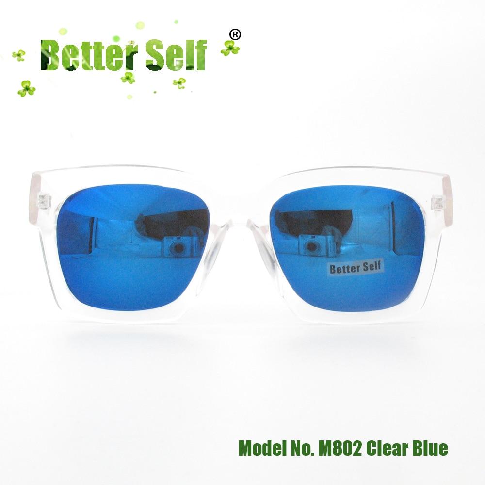 UV400 glasögon fyrkantiga solglasögon ut dörren glasögon full - Kläder tillbehör